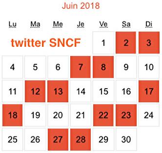 Calendrier Des Greves A La Sncf.Calendrier Decembre 2018 Planning Dates Journees News
