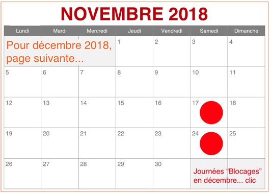 Calendrier Sncf Greves.Calendrier Decembre 2018 Planning Dates Journees News